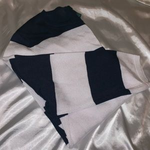 Lauren Ralph Lauren Striped Sweater Navy White